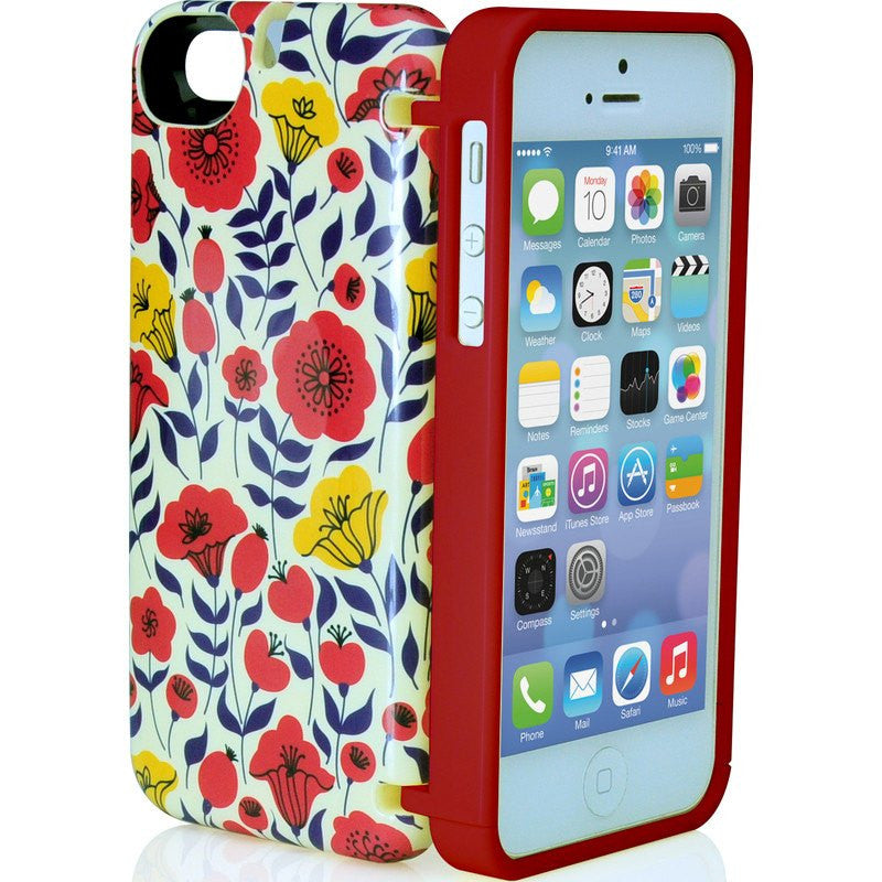 EYN iPhone 5/5s Wallet Case | Floral