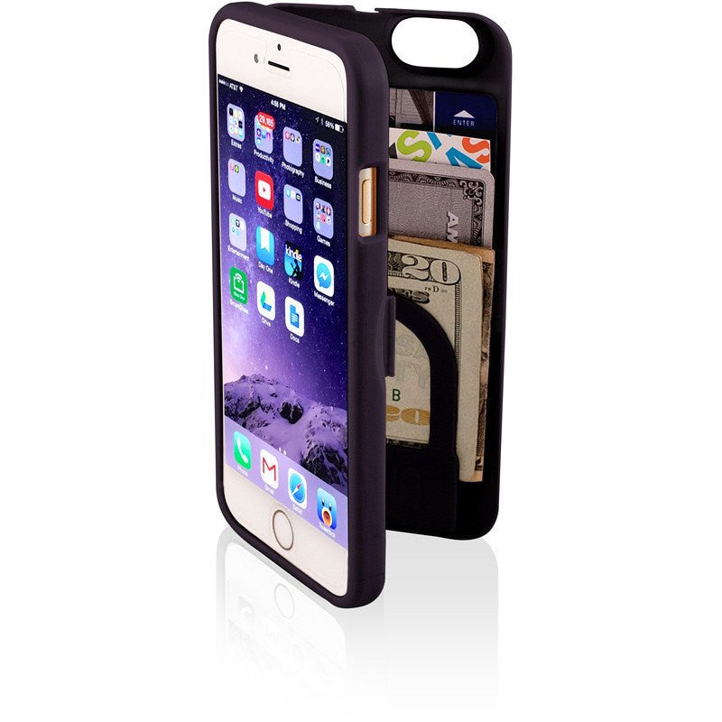 EYN iPhone 6/6s Wallet Case Black