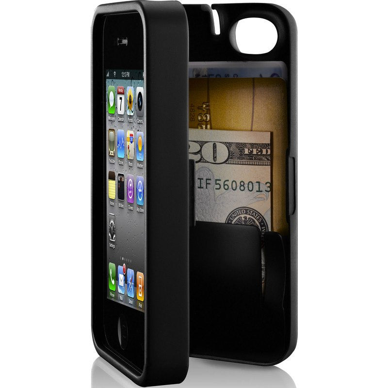 EYN iPhone 4/4s Wallet Case | Black