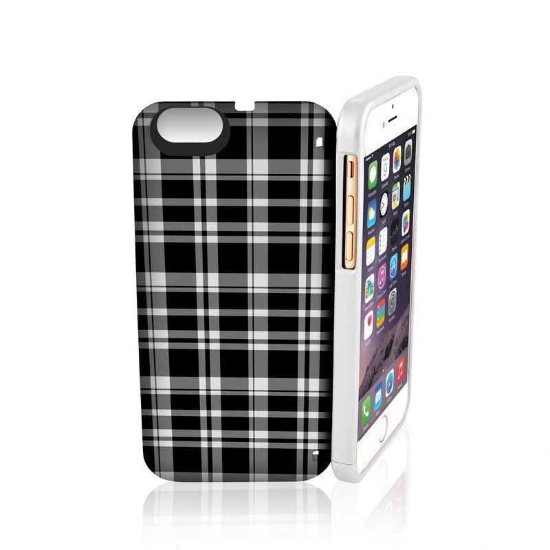 EYN iPhone 6 Wallet Case | B & W Gingham
