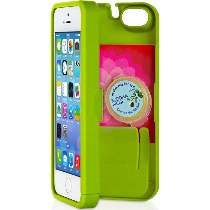 EYN iPhone 5/5s Wallet Case | Chartreuse