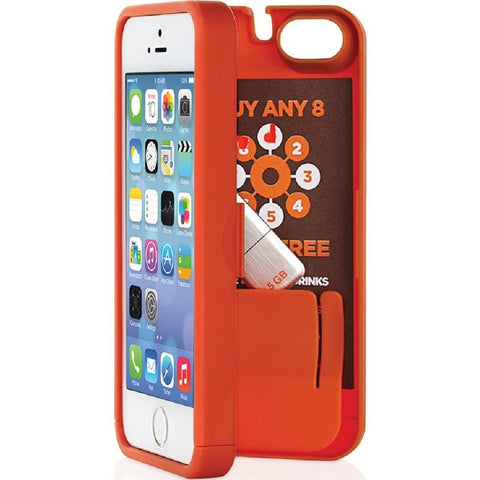 EYN iPhone 5/5s Wallet Case | Orange