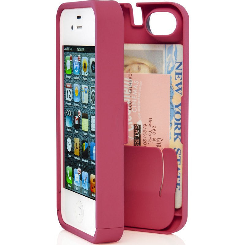 EYN iPhone 4/4s Wallet Case | Pink