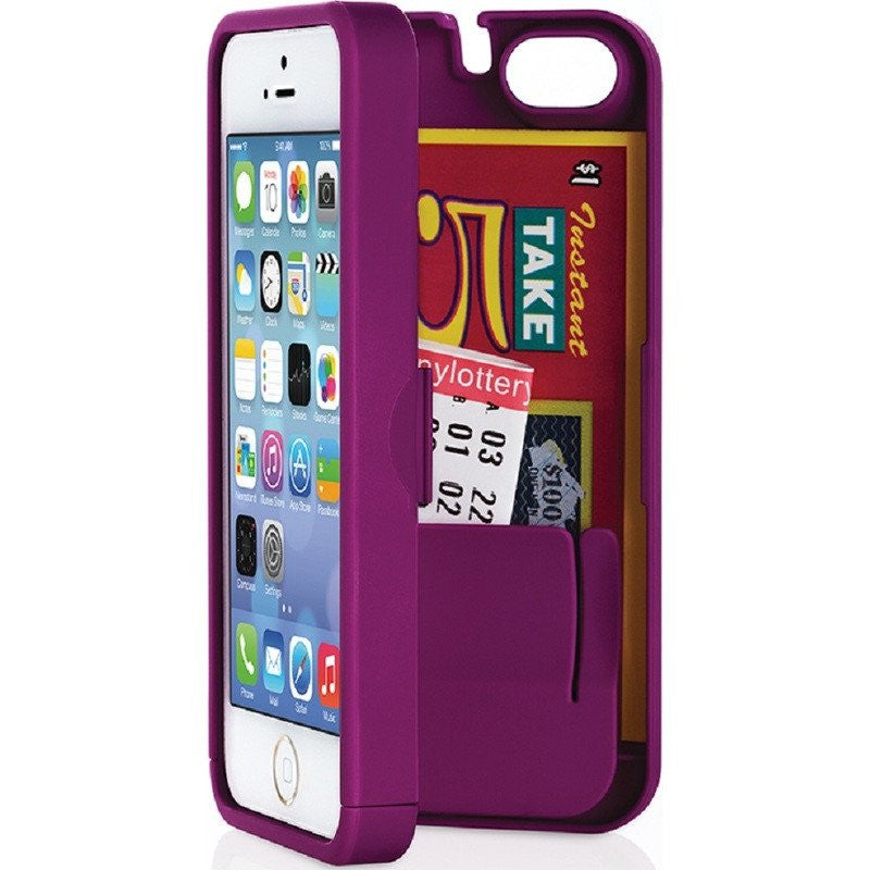 EYN iPhone 5/5s Wallet Case | Purple