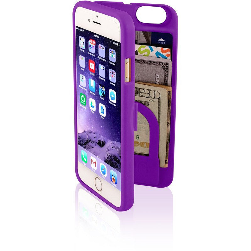 EYN iPhone 6 Wallet Case | Purple