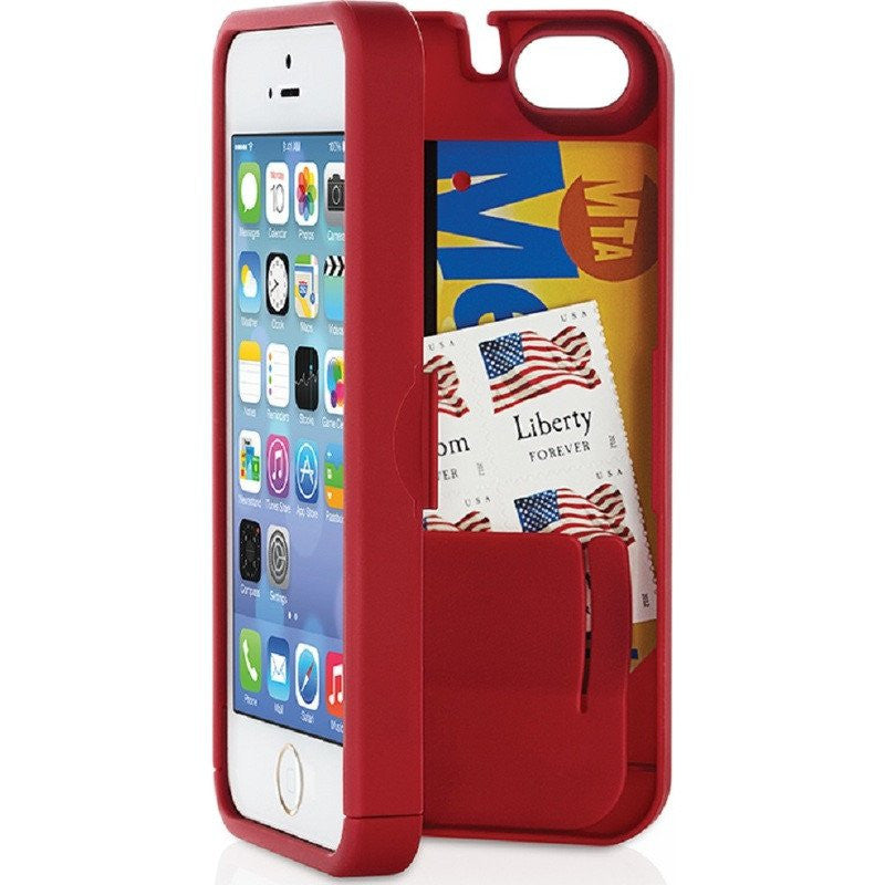 EYN iPhone 5/5s Wallet Case | Red