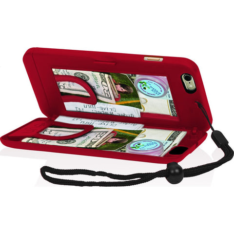 EYN iPhone 6/6s Wallet Case | Red