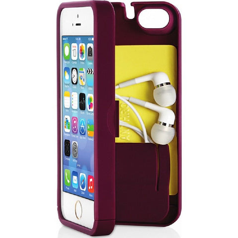 EYN iPhone 5/5s Wallet Case | Syrah