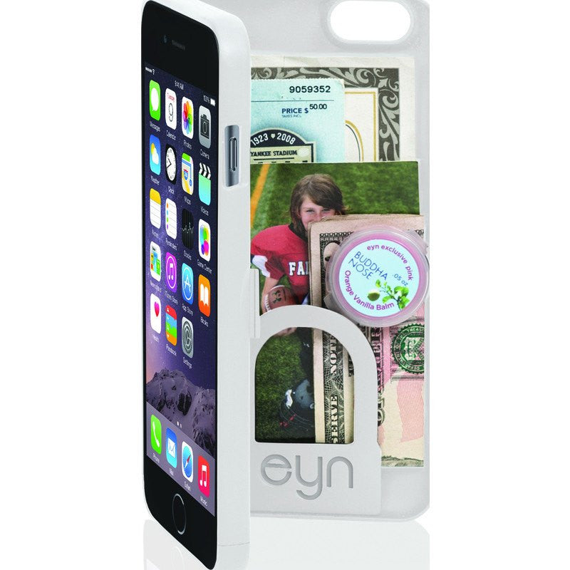 EYN iPhone 6 Plus Wallet Case | White
