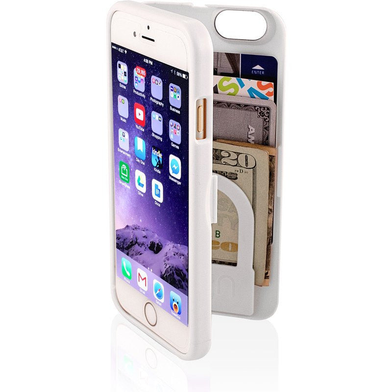 EYN iPhone 6 Wallet Case | White