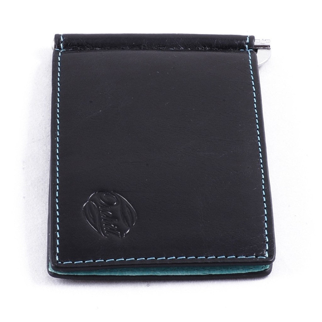 Orchill Captain Money Clip Wallet | Black/Ice