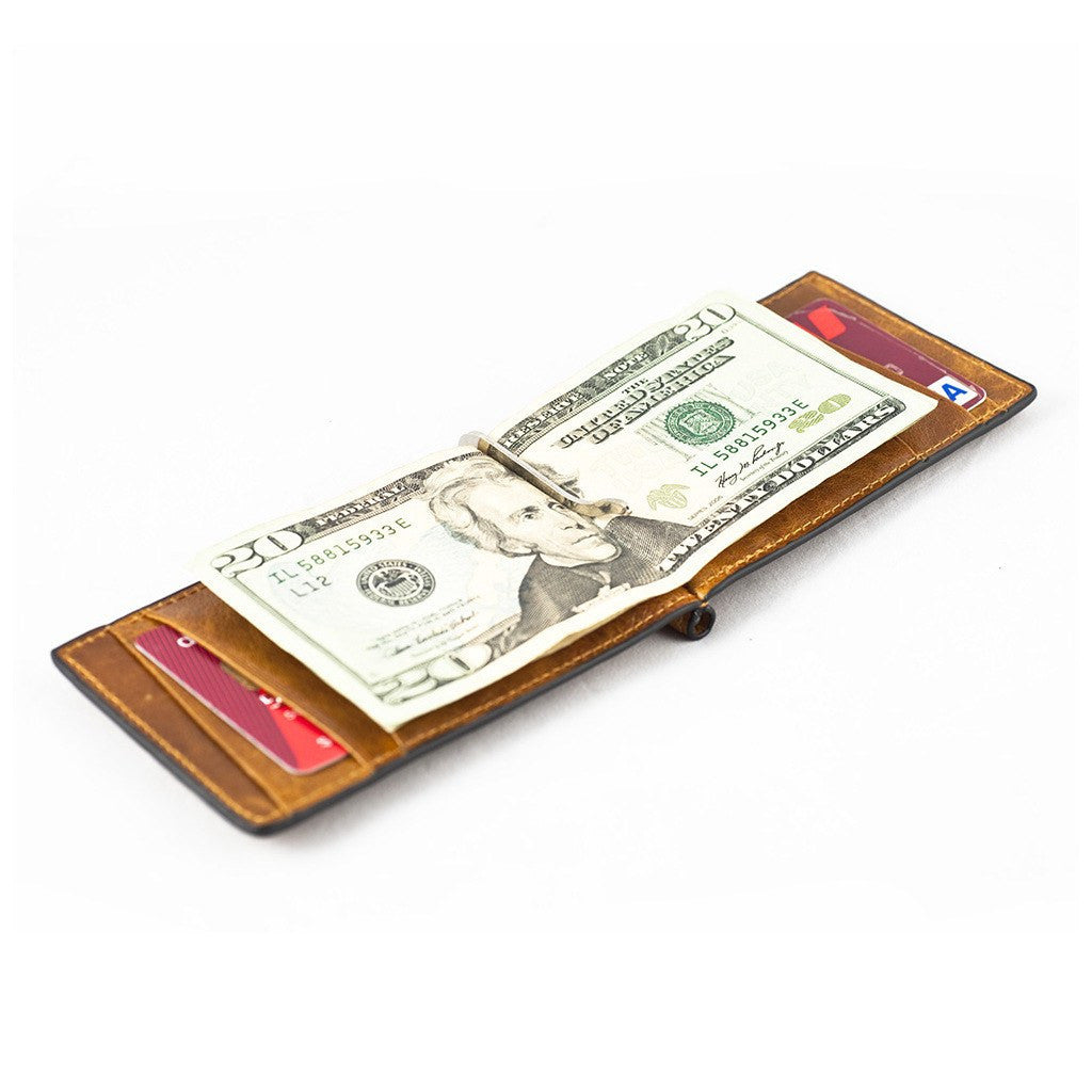 Orchill Captain Money Clip Wallet | Corinthian