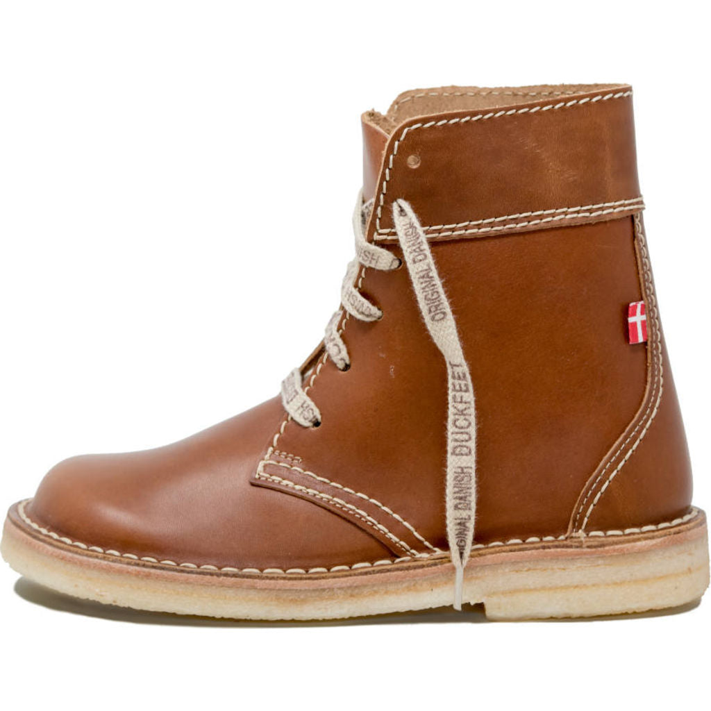 Duckfeet Leather Faborg Boots in Brown