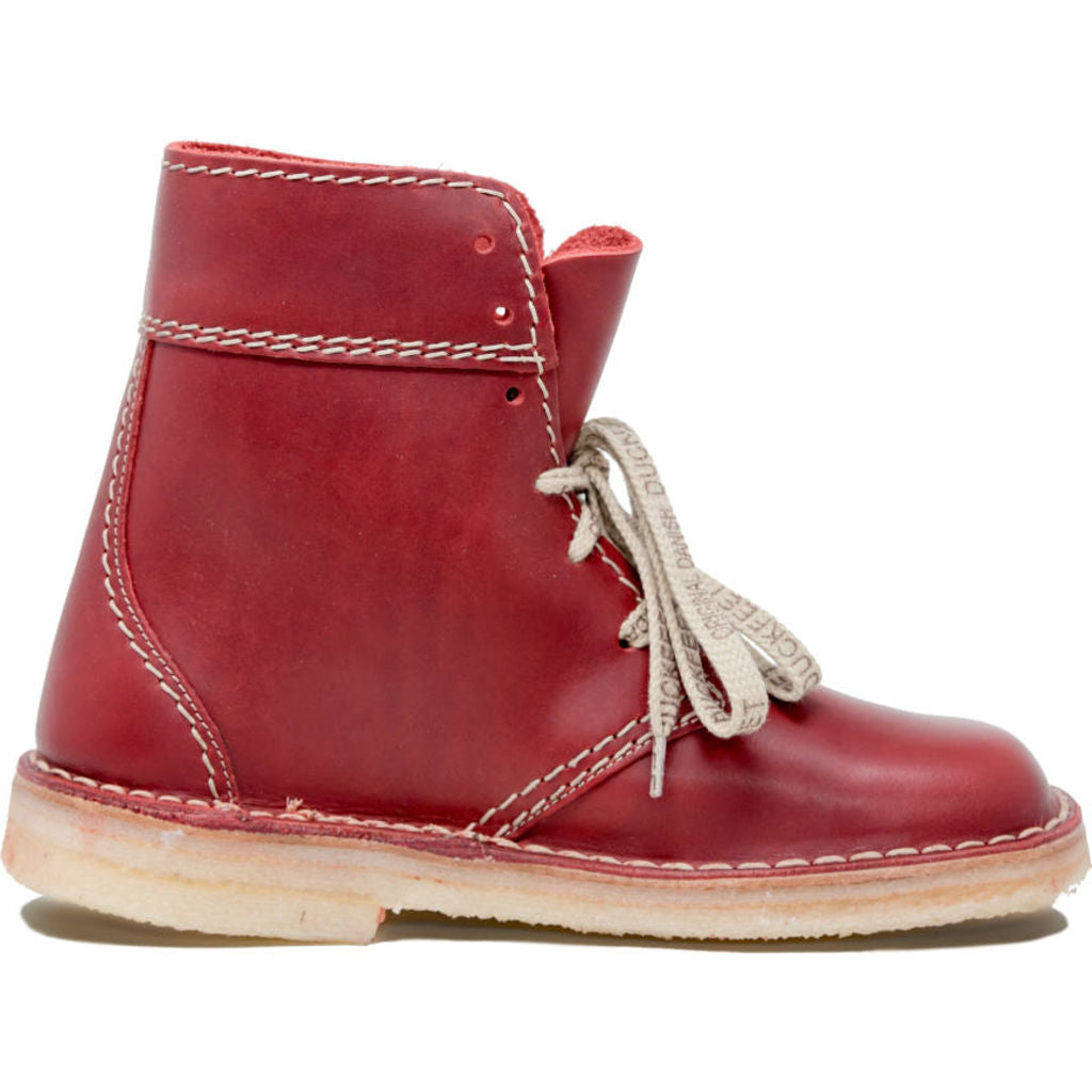 Duckfeet Leather Faborg Boots in Granate