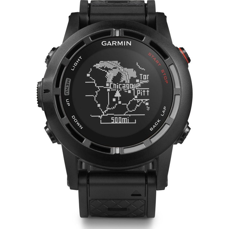 Garmin Fenix 2 Multi Sport Watch Performance Bundle | Black