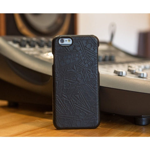 Hex x Fool's Gold  Case for iPhone 6 | Black Leather