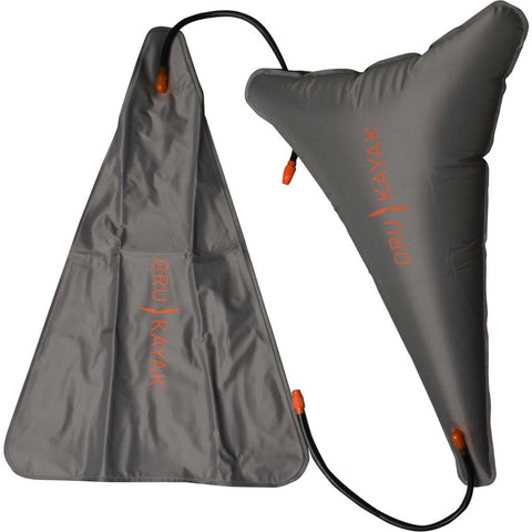 Oru Kayak Float Bags | Gray