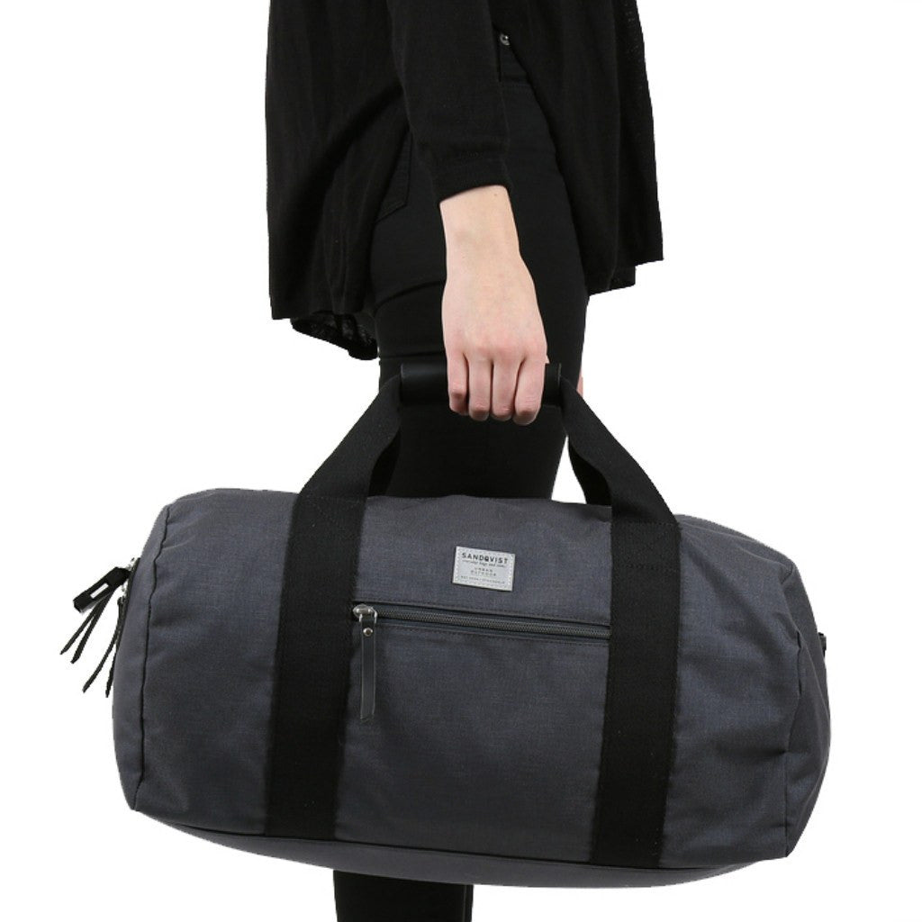 Sandqvist Floyd Duffel Bag | Dark Grey SQA560