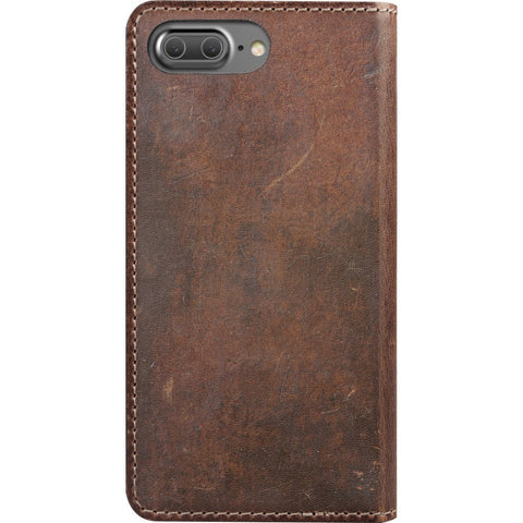 Nomad Folio Case for iPhone 7 Plus  | Horween Brown Leather case-i7plus-folio-brn