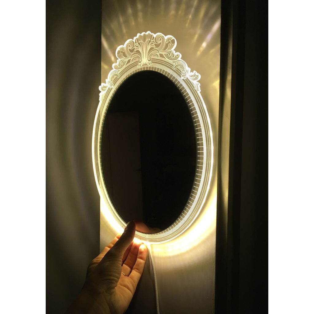 Studio Cheha Marra LED Table/Wall Lamp & Mirror