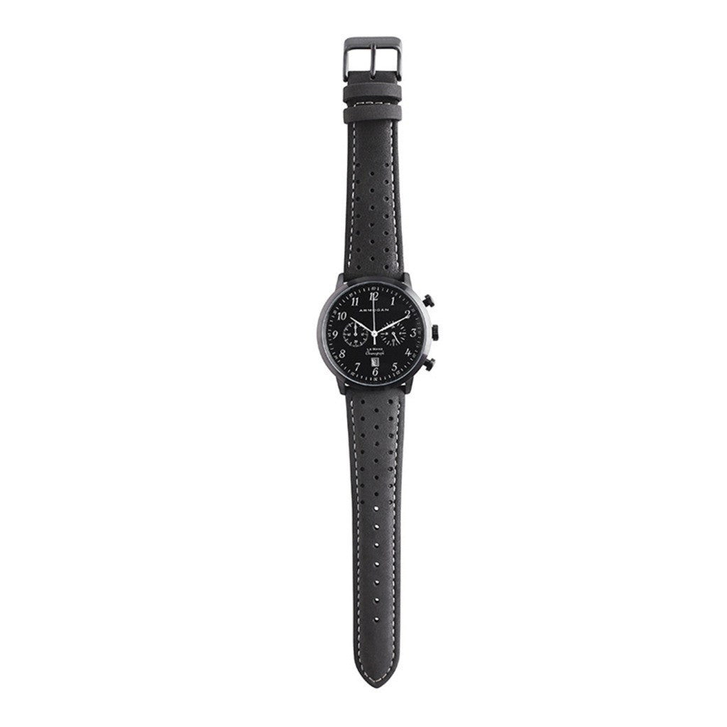 Armogan Le Mans Chronograph Watch | Midnight Black LMB22N7W2