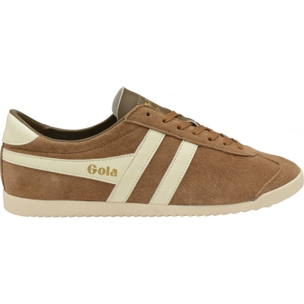Mens Bullet Suede Tobacco/Off White Trainers Gola