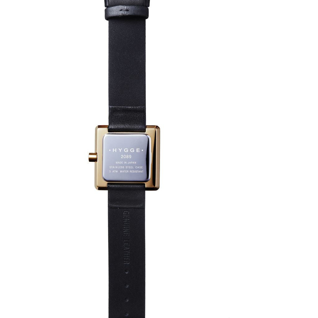 Hygge 2089 Gold Watch | Leather HGE-020082 MSL2089