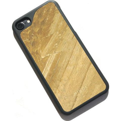 MIKOL Galaxy Marble iPhone Case | Gold/Black