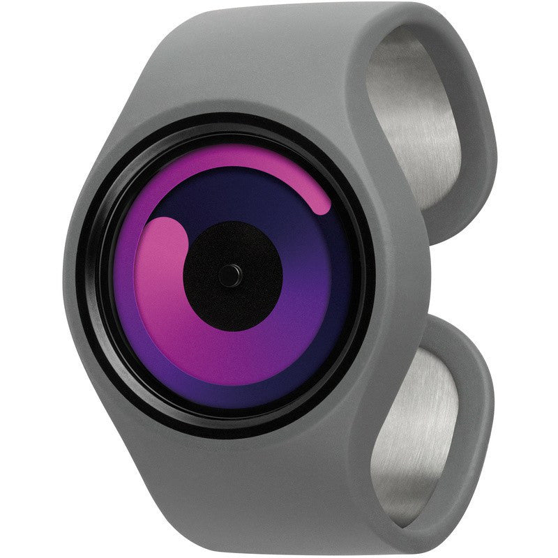 ZIIIRO Gravity Grey - Purple Watch | Z0001WGP