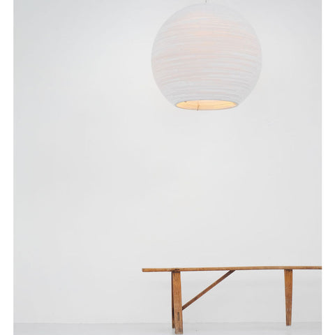 Graypants Scraplight Sun 32 Pendant | White
