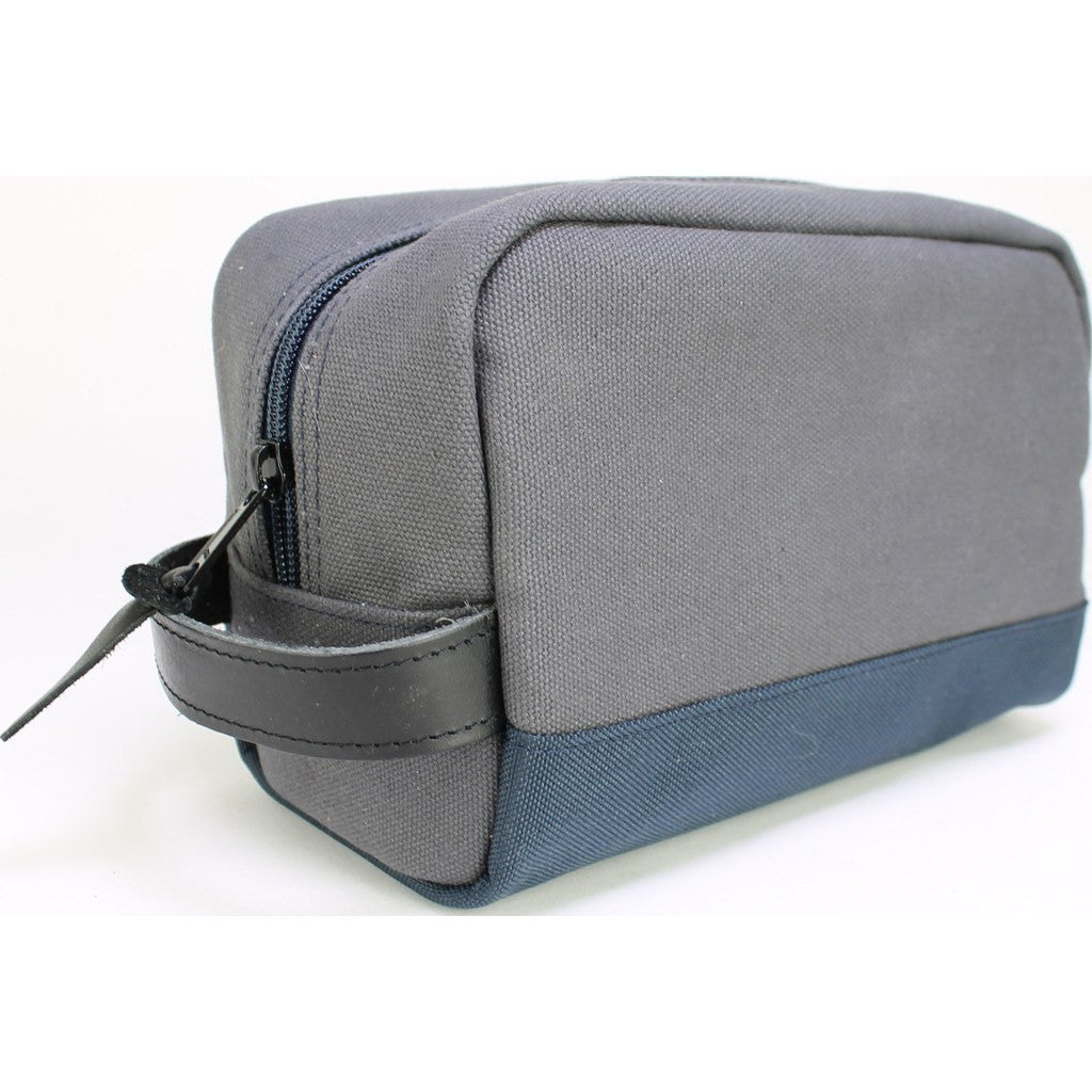 Owen & Fred Hey Handsome Shaving Kit Bag | Grey/Navy