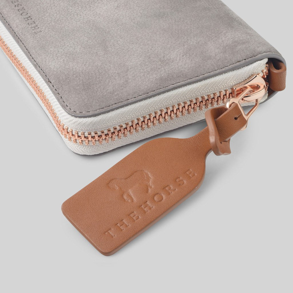 The Horse Block Wallet | Grey STO123 -L6
