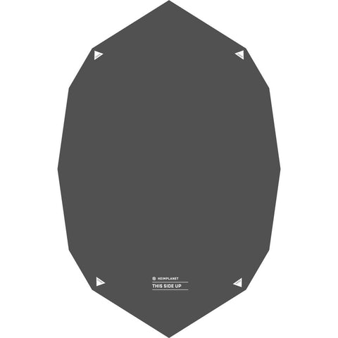 Heimplanet Backddoor Ground Sheet | Black 0020085