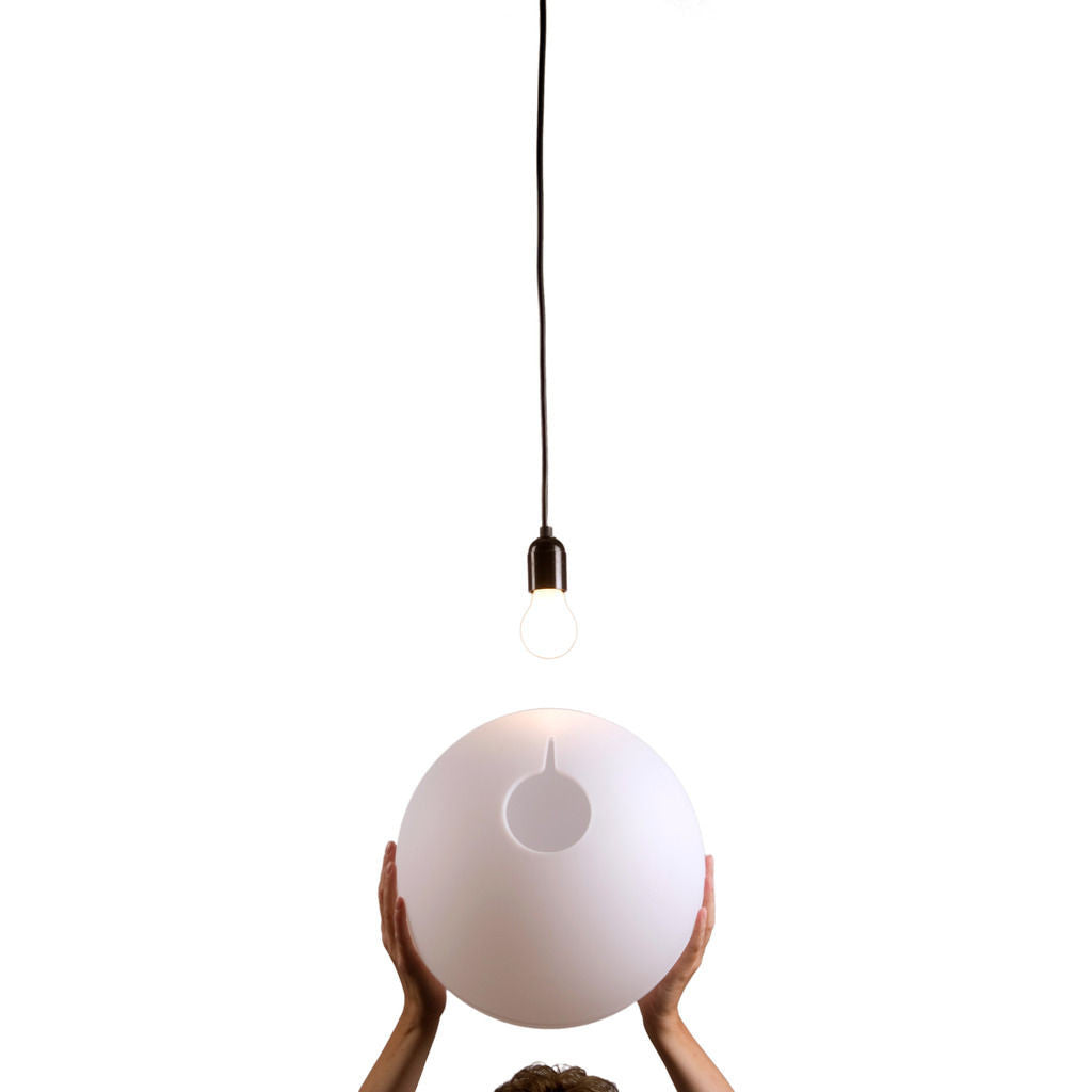 Droog Hang on Easy Pendant Light | White DD-209 00