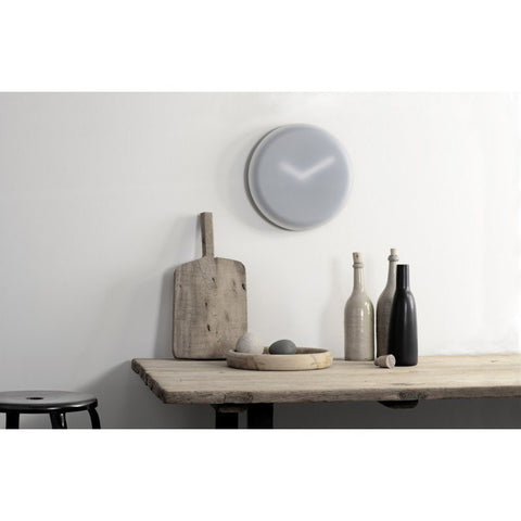 LEFF Amsterdam Hazy35 Wall Clock | White/Black