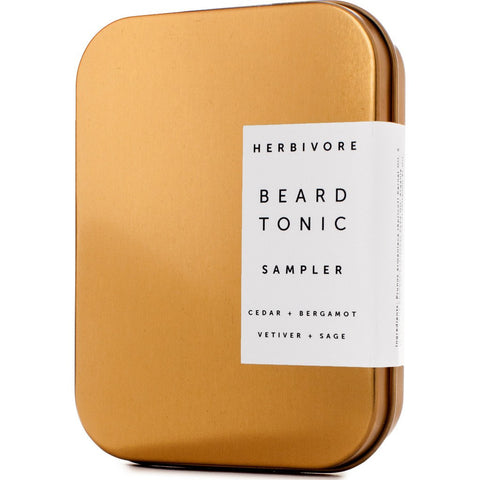Herbivore Botanicals Beard Tonic Sampler Set | .25oz 36
