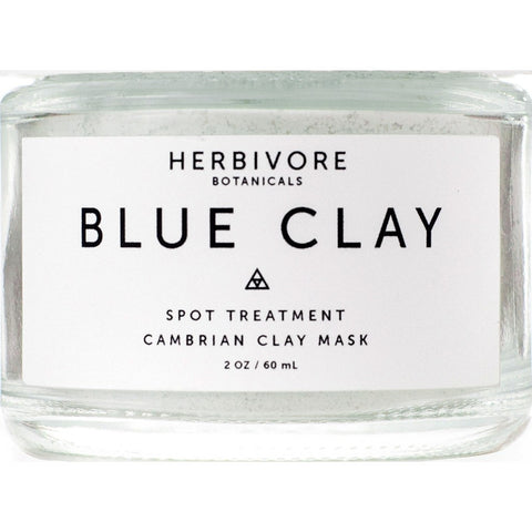 Herbivore Botanicals Blue Clay Spot Treatment Dry Mask | 2oz 8