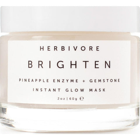 Herbivore Botanicals Brighten Pineapple + Gemstone Wet Mask 2.3 Oz | 2.3oz 49