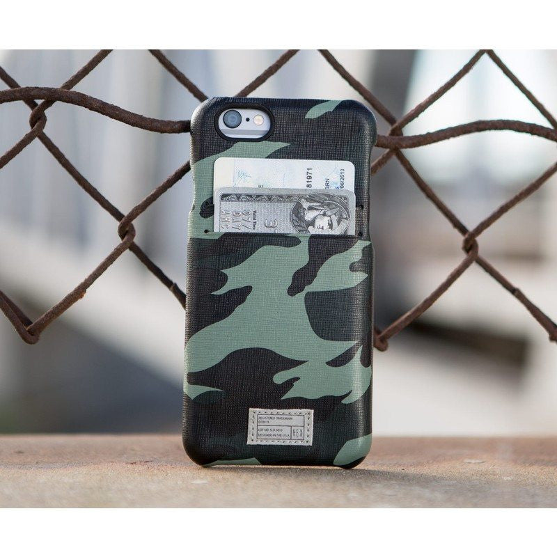 Hex Solo Wallet for iPhone 6 | Marine Camo