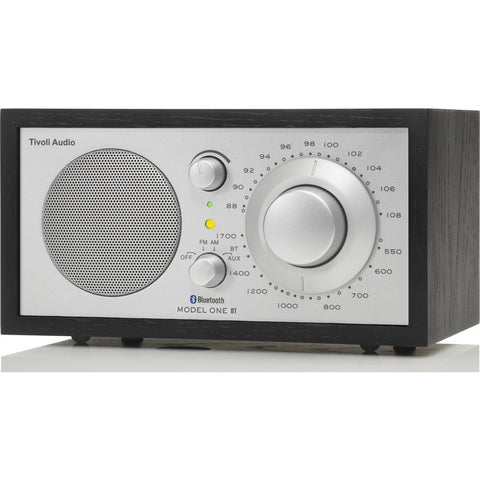 Tivoli Audio Model One BT Speaker Radio | Black/Silver M1BTBBS