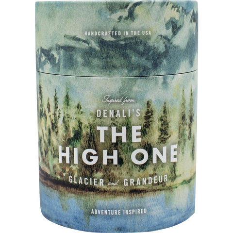 Ethics Supply Co. Organic Scented Candle | Denali The High One