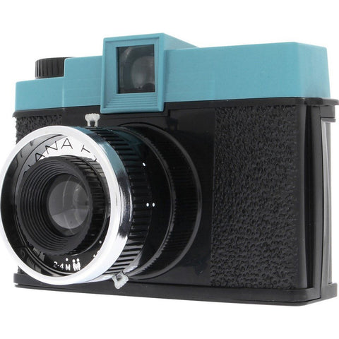 Lomography Diana F+ Camera without Flash | Black/Teal HP650