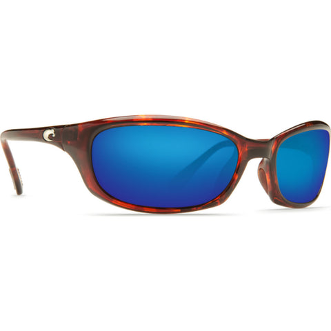 Costa Harpoon Tortoise Sunglasses | Blue Mirror Glass W580