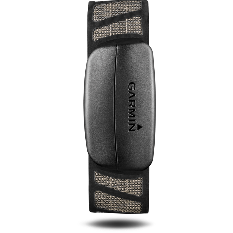 Garmin Premium Heart Rate Monitor Soft Strap | Black