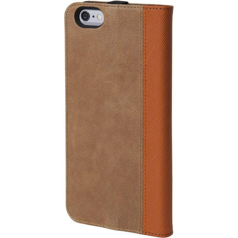 Hex Icon Wallet for iPhone 6 Plus | Brown Leather