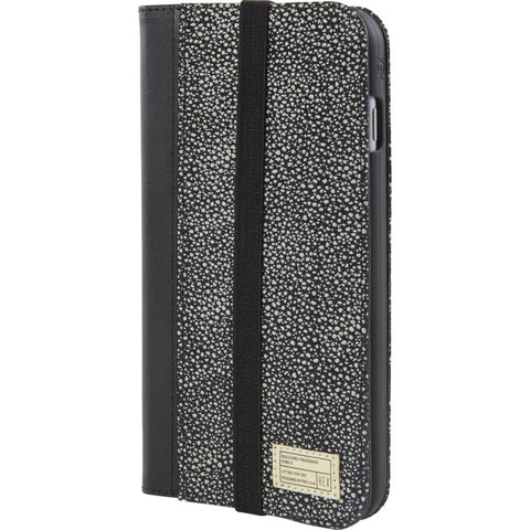 Hex Icon Wallet for iPhone 6/6s Plus | Black White Stingray BWSR HX1835