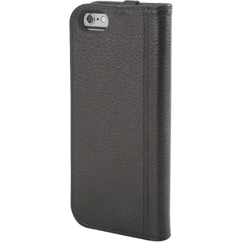 Hex Icon Wallet for iPhone 6 Black Pebbled Leather | HX1750 BLCK