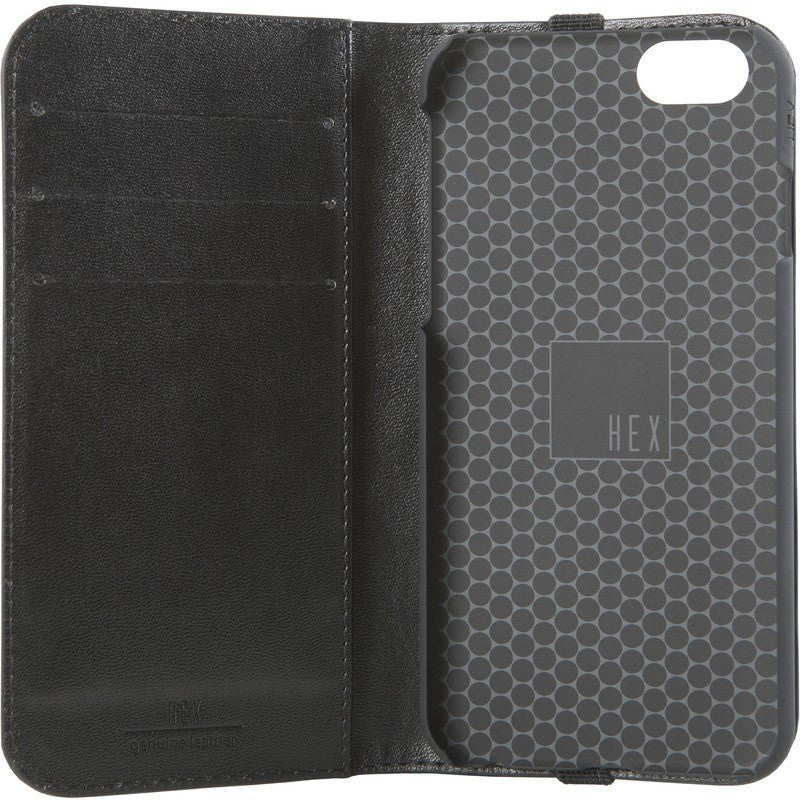 Hex Convoy Icon Wallet for iPhone 6 | Black Striped Canvas