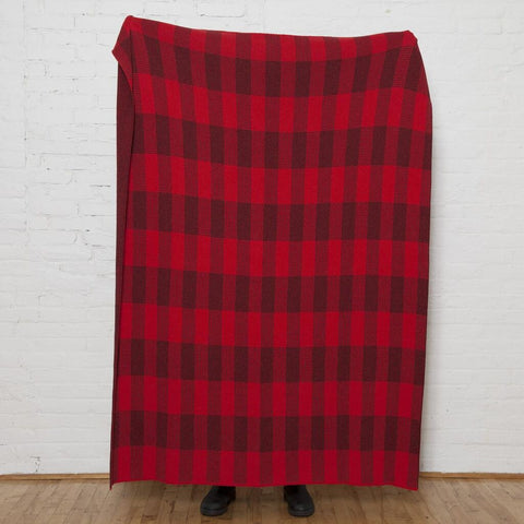 in2green KHS Buffalo Plaid Blanket Eco Throw