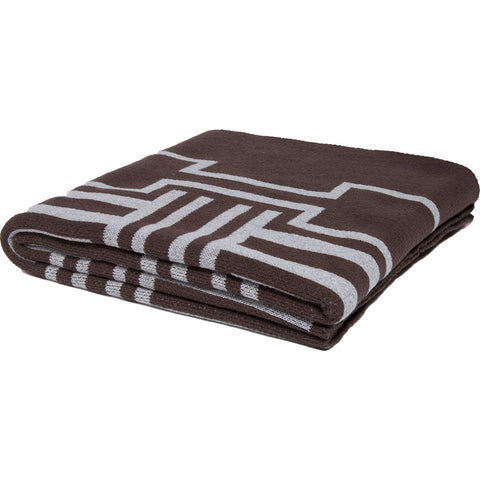 Stacy Garcia Illusions Eco Throw | Choc/Alum- SG-IL01